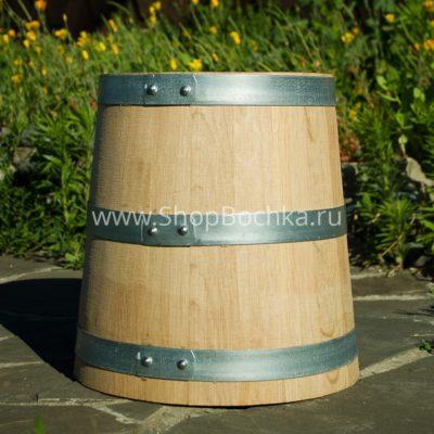 Дубовая кадка 10 литров для засолки из Кавказского дуба