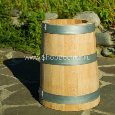 Дубовая кадка 5 литров для засолки из Кавказского дуба