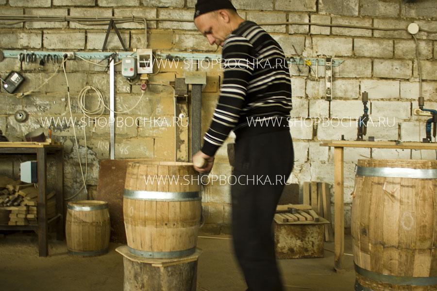 Изготовление дубовой бочки