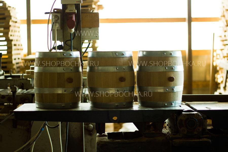 Готовые дубовые бочки на 10 литров